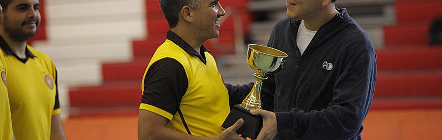 OMA Subcampeón Indoor 2016