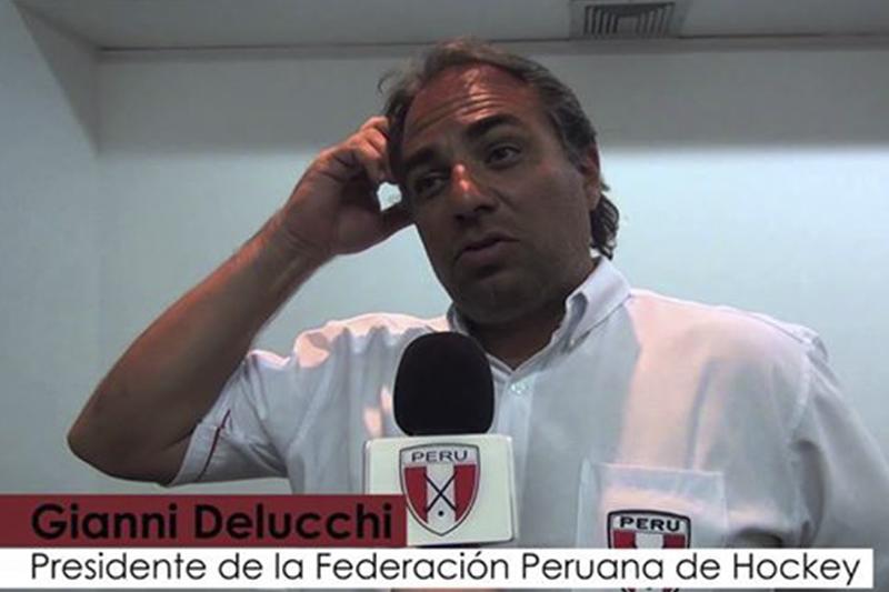 EL HOCKEY PERUANO SE POSICIONA EN EL ÁMBITO INTERNACIONAL CON NOMBRAMIENTO DE DELUCCHI EN COMISIÓN DE LA FIH