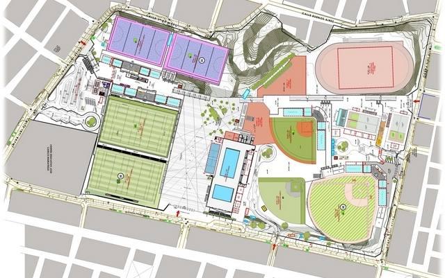 Canchas de hockey estarán en zona Este de complejo en VMT